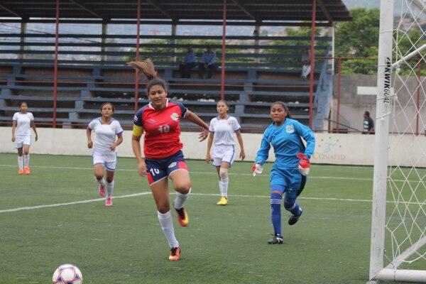 El colegio de Santa Marta de Buenos Aires de Puntarenas está represenatando a Costa Rica en categoría femenina.