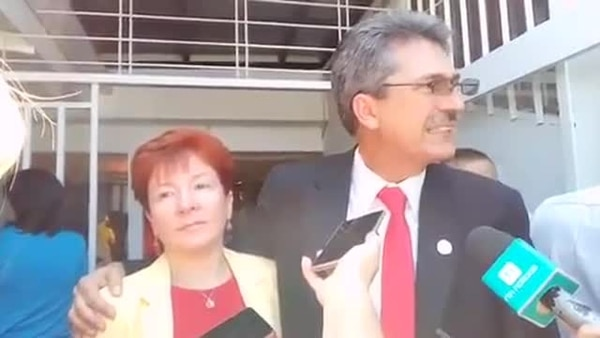 Inscripción de candidatura de Welmer Ramos con el PAC