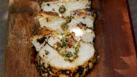 Pechuga de pollo a las hierbas italianas