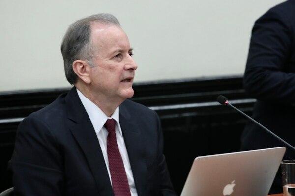 Ottón Solís fue designado como representante de Costa Rica ante el Banco Centroamericano de Integración Económica (BCIE) el 8 de mayo de 2018. Foto: Alonso Tenorio