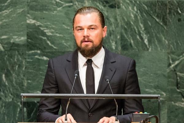 Leonardo DiCaprio intervino este martes en la Cumbre del Clima en la ONU, donde abogó a los gobiernos del mundo tomar medidas en contra del cambio climático.