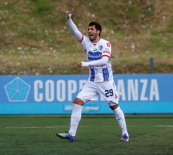 El uruguayo Fabrizio Ronchetti jugó año y medio con el Cartaginés. | RAFAEL PACHECO