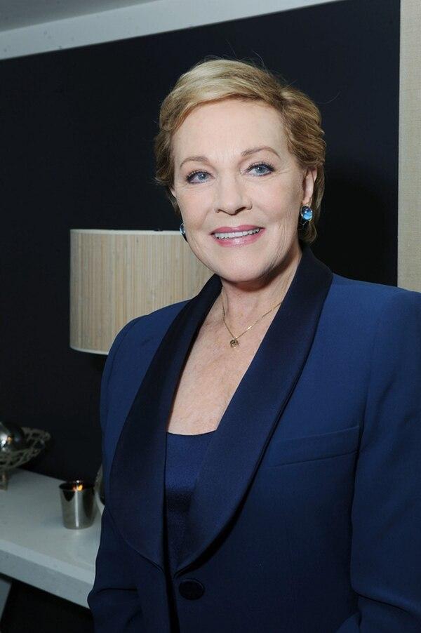 La actriz Julie Andrews será la narradora principal de la serie 'Bridgerton'. Fotografía: AP