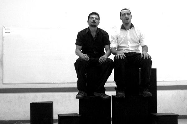 Los bailarines Gustavo Vargas y Xabier Irigibel también presentaron esta coreografía en la Universidad de Costa Rica. Foto: Cortesía de Inés Aubert