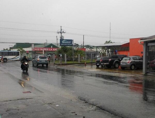 Las lluvias en el Caribe tienden a bajar intensidad, pero se mantendrán varios días más, según el IMN. Foto: Archivo/ Reiner Montero.