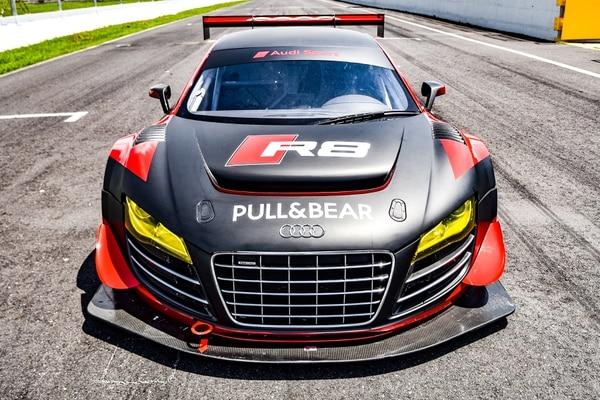 El Audi GTS, conducido por el salvadoreño Rolando Saca, debutará en los 150 km de la Independencia, cuarta fecha del CTCC, que se realizará este 14 de setiembre en el Circuito del Parque Viva. Cortesía: Puro Motor