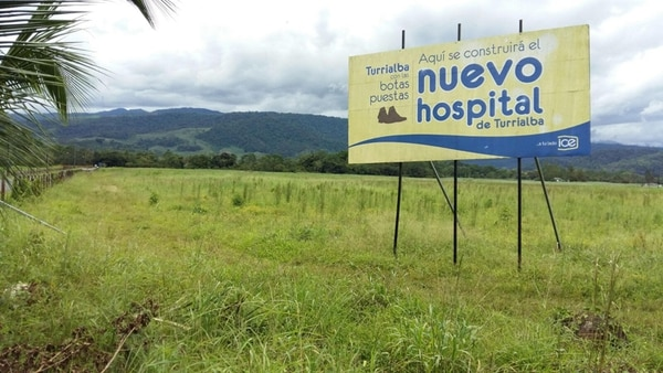El lote donde se ubicará el nuevo hospital está a seis kilómetros de las actuales edificaciones.