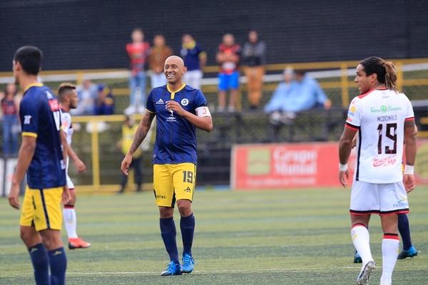 Erick Marín volvió a portar la cinta de capitán de Guadalupe. Foto: Rafael Pacheco