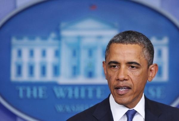 Obama se abstuvo de emitir pronósticos.   AFP.