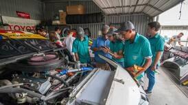 Estudiantes compartieron con pilotos y mecánicos del CTCC