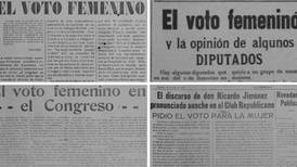 98 años después, la Liga Feminista es declarada benemérita de la patria