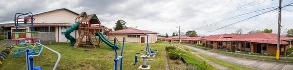 En el Hospicio de Huérfanos de San José, ubicado en Vista De Mar, Ipís, Goicoechea, no hay niños desde el 21 de diciembre de 2018. Fotografía: Alejandro Gamboa Madrigal