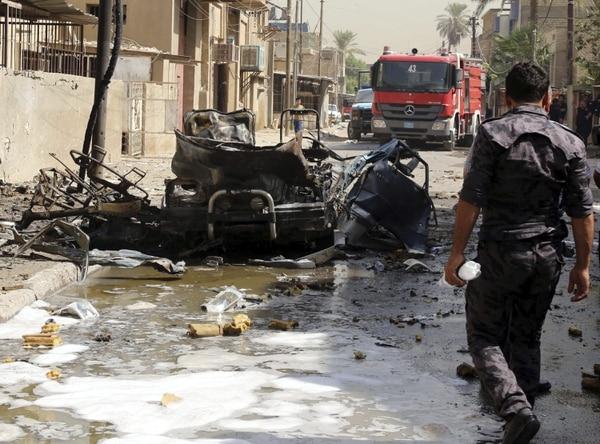 Dos días después de este atentado con un coche bomba, surge un nuevo ataque que cobró la vida de personas que salían de una oración.