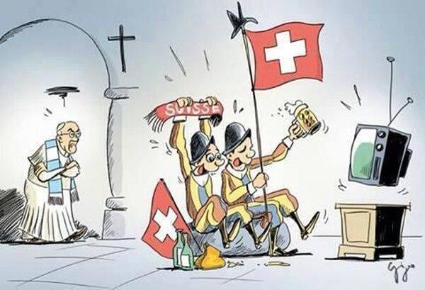 La Santa Sede vive con humor encuentro mundialista entre Argentina y Suiza.