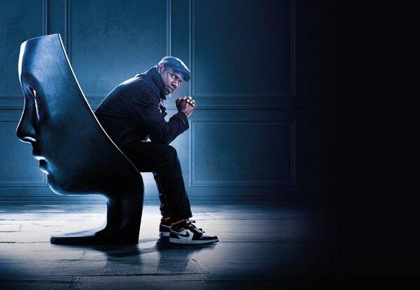 El actor francés Omar Sy, de 43 años, es el protagonista de 'Lupin', la exitosa serie francesa inspirada en el personaje de los libros de Maurice Leblanc. Netflix para LN.