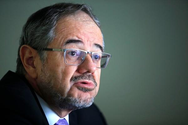 Bernardo Alfaro, jerarca de Sugef. Foto: Rafael Pacheco.