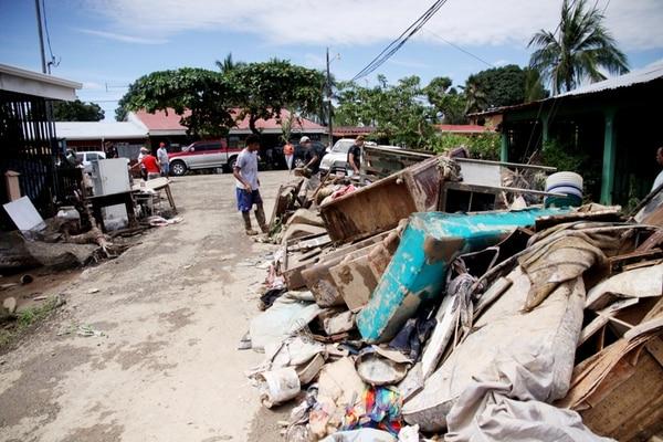 El huracán Tomás dejó sin casa a 700 familias en el país. El Banhvi aún no termina la atención a esos damnificados. | MARCELA BERTOZZI