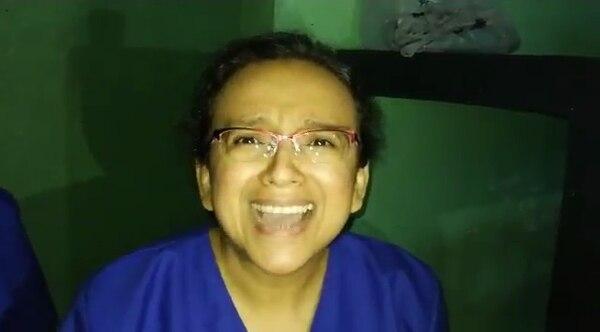 El video fue publicado por el eurodiputado José Inácio Fária, quien visitó a Pineda en El Chipote y declaró que ella y el comunicador Miguel Mora permanecen en condiciones