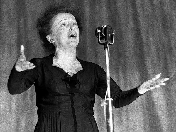 Legendaria. Edith Piaf alcanzó fama internacional. AFP