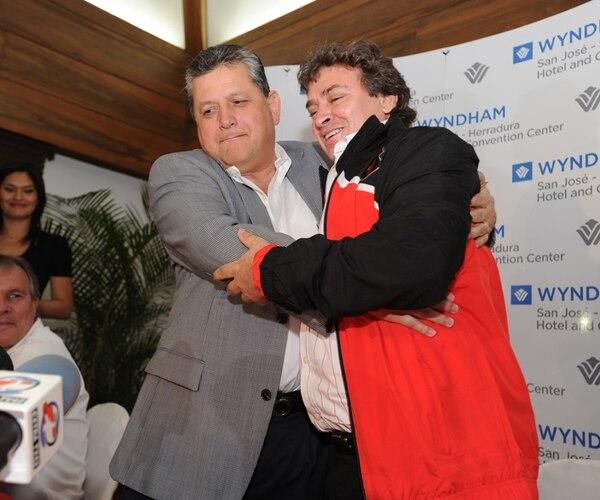 Raúl Pinto y Ramírez en su regreso en el Invierno 2013. | ARCHIVO