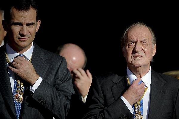 El rey Juan Carlos de Borbón condujo España de la dictadura a la democracia.