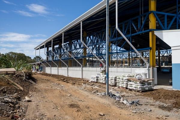 El nuevo gimnasio será multiusos y pasará de 300 a 900 metros. Fotografía: Alejandro Gamboa Madrigal
