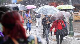 IMN prevé retorno de aguaceros fuertes a partir de este lunes