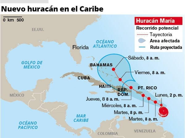 Nuevo huracán en el Caribe.