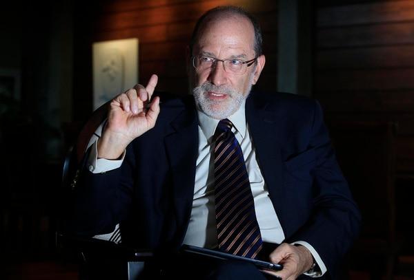 Henning Jensen Pennington, rector de la Universidad de Costa Rica (UCR). Foto: Rafael Pacheco