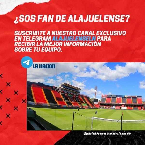 AlajuelenseLN: Así se llama el canal en Telegram para recibir información sobre la Liga. Fotografía: LN