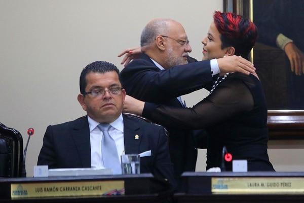 Laura Guido, del PAC, ganó la primera secretaria del Directorio. Foto: Rafael Pacheco