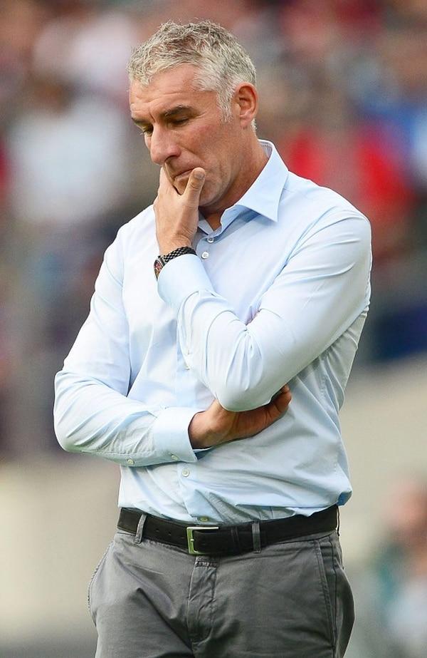 Mirko Slomka no obtuvo buenos resultados con el Hamburgo.