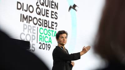 Christiana Figueres, líder mundial en la lucha contra el cambio climático