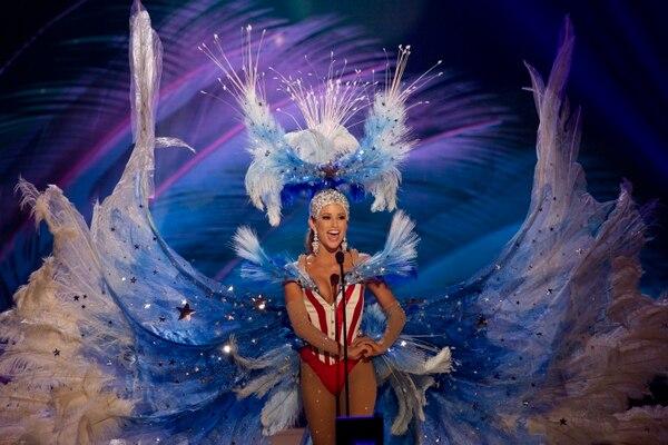 Nia Sánchez, Miss Estados Unidos.