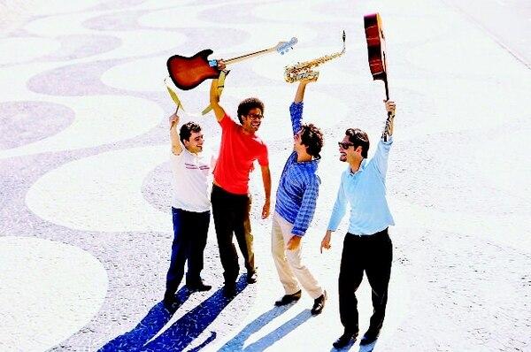 Fotograma de la cinta Los desafinados, la historia de cuatro músicos con sueños de triunfo. ArchivoArte de las ilusiones.