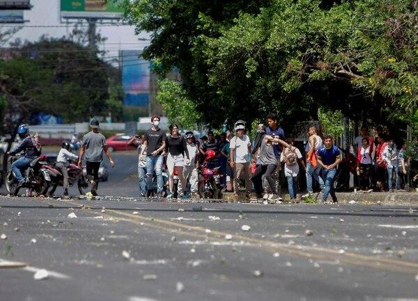 Las protestas en Nicaragua comenzaron en Managua, pero se han extendido a otras partes del país. Foto: AFP