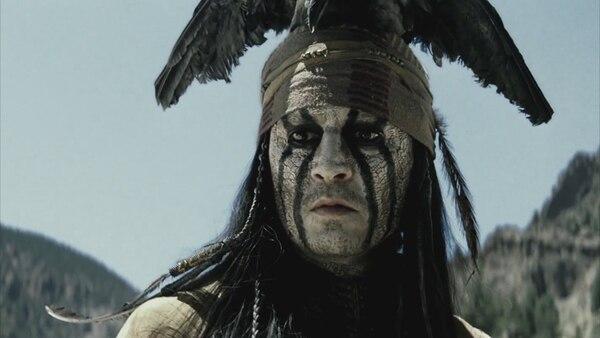 Por el filme 'El llanero solitario', Johnny Depp está nominado como peor actor en los Razzies.