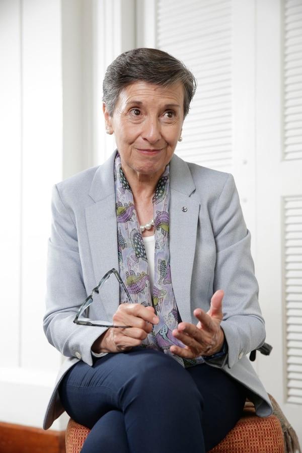 Entrevista con la Presidenta de Transparencia Internacional, Delia Ferreira. Fotografía: Alejandro Gamboa Madrigal