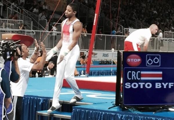 Tarik Soto compitió este sábado en los Juegos Panamericanos de Toronto.