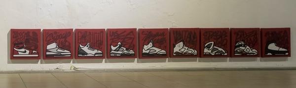 Este ensayo gráfico es de Alejandro O'Connor; se llama Air Jordan Project. Fotografía: José Cordero.