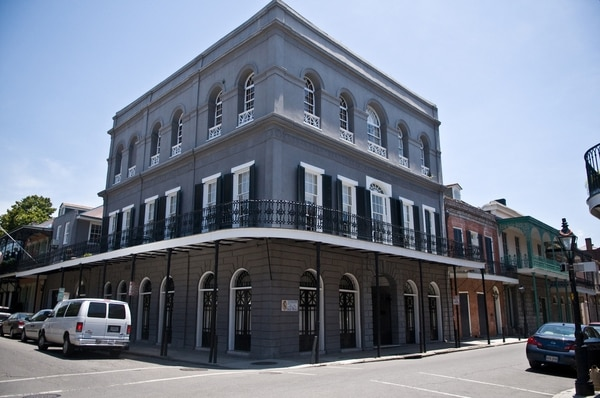 Cage invested a fortune to acquire the LaLaurie house in New Orleans.