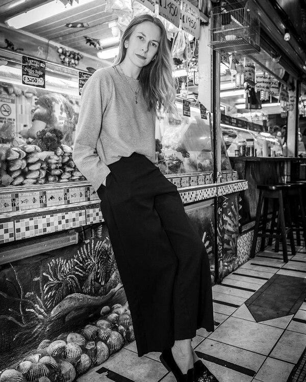 La marca Muss Muss, dirigida por Consuelo Melo, se especializa en sastrería femenina. En el 2017, Melo ganó el premio S. Pellegrino al mejor diseñador del MBFW San José de ese año. Fotografía: Juan Calivá.