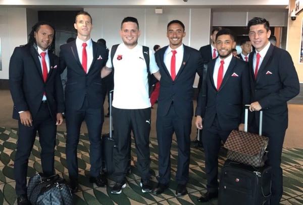 Jonathan McDonald, Pablo Gabas, Luis Miguel Valle y Cristopher Meneses son parte de los jugadores de la Liga que tienen experiencia en Concacaf.