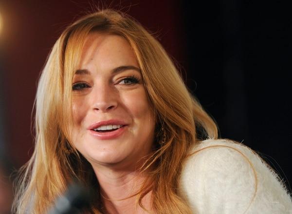 Polémica. Lindsay Lohan ha estado seis veces en un programa de rehabilitación para tratar sus problemas de adicción. AP