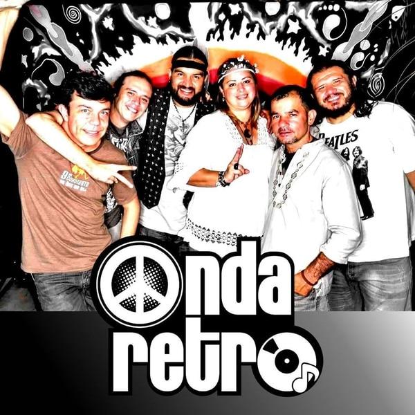 La agrupación Onda Retro ha apoyado la iniciativa alajueliteña desde hace ocho años. Foto: Cortesía Mauricio Sandoval.