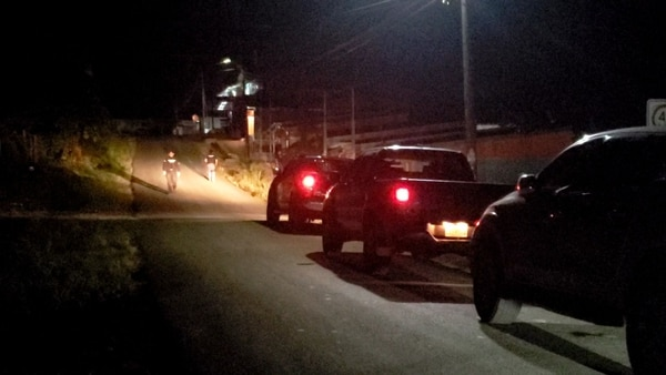 Allanamientos en Bajo Rodríguez de San Ramón, Alajuela, relacionados con banda de narcotráfico y sicariato. Foto: Edgar Chinchilla para LN