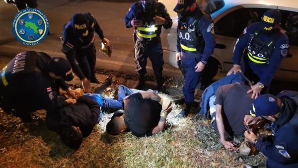 Los detenidos como sospechosos de perpetrar la balacera tienen edades de entre los 18 y los 28 años. Todos cuentan con antecedentes policiales. Foto: Cortesía MSP