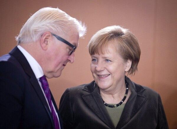 La canciller alemana, Angela Merkel, coincidió con Barack Obama en calificar de