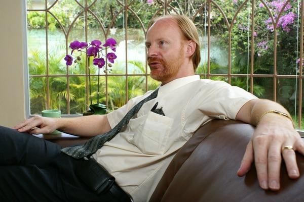 Ryan Piercy concedió, en mayo del 2007, una entrevista a El Financiero , en la cual habló de la Asociación de Residentes de Costa Rica (ARCR) y su labor en el país. En aquel momento, dijo que asesoraba un promedio de 30 extranjeros semanales, con interés en venir al país. | ARCHIVO LN