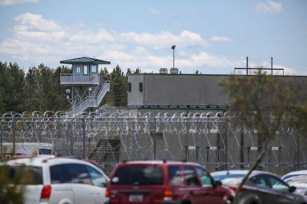 Centro Correccional Lee, en Bishopville, Carolina del Sur,, donde ocurrió el motín que causó siete muertes.